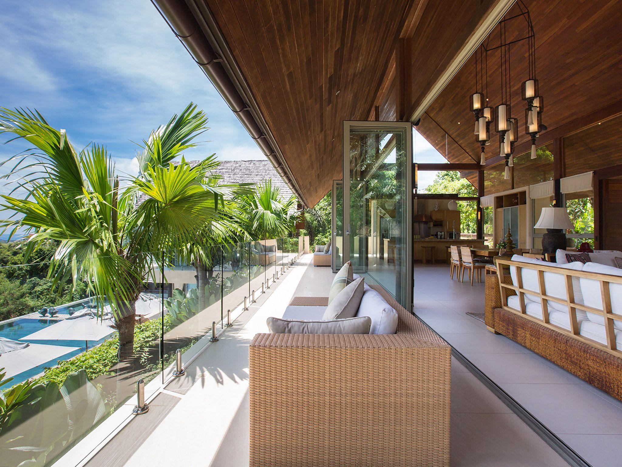 Avasara Residence at Panacea Retreat - Upper terrace